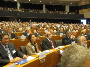 EUROPEAN PARLIAMENT OF ENTERPRISES 2012